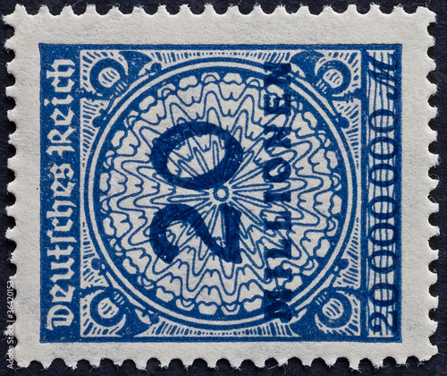 POST STAMP GERMAN EMPIRE