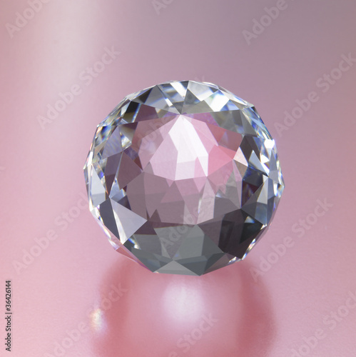 abstract diamond sphere
