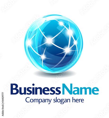 Business logo design 3D