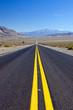 La Recta del Tin-Tin in Argentina, a long straight road