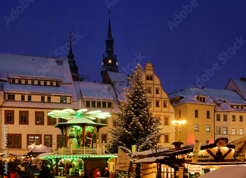 Freiberg Weihnachtsmarkt - Freiberg christmas market 01
