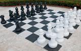 Outdoor Schach poster