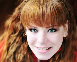 redhead young girl