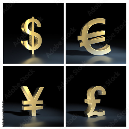 Different currency symbols