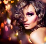Fototapety Fashion Beauty Girl. Fashion Vogue Style Portrait