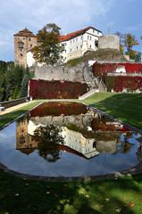 Castle Bechov nad Teploy. Czech republic
