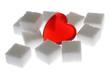 Zucker und Herz