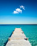 Fototapety plage vacances ponton bois