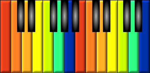 Pianoforte arcobaleno