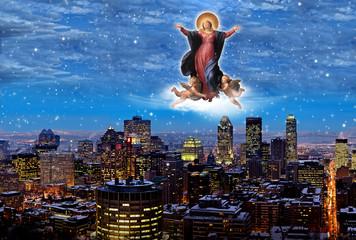 Vergine sulla città