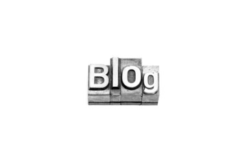 bottone blog caratteri tipografici