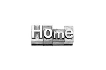 bottone home caratteri tipografici