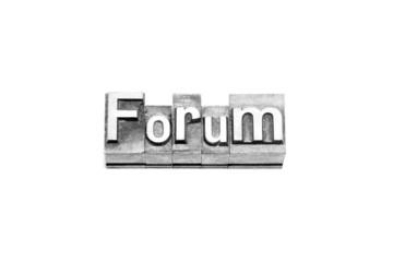 bottone forum caratteri tipografici