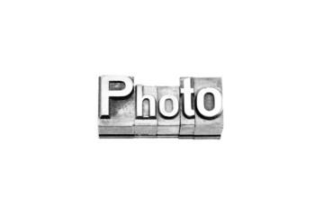 bottone photo caratteri tipografici