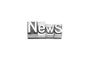 bottone news caratteri tipografici
