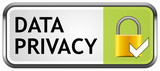Data Privacy Button poster