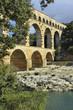 Roman aqueduct Pont du Gard, France