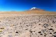 Volcano in Desert