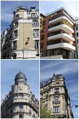 Postcard Paris - Buildings