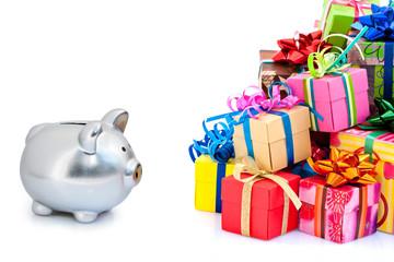 Dépenses pour achat de cadeaux