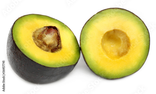 Fresh tropical avacado fruit