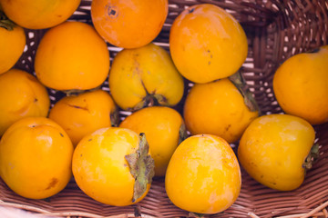 persimmon in your shopping cart