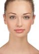 Close-up of beautiful female face