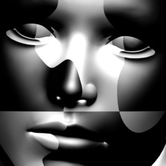 Doppel Gesicht