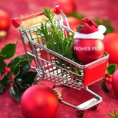 Weihnachtszeit , Einkaufen