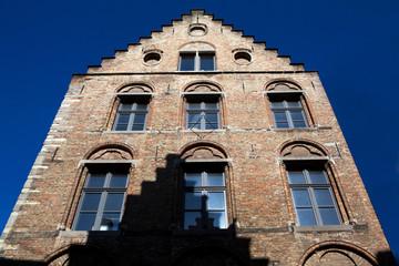 Old house in Bruges Flanders Belgium