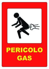 Pericolo gas