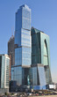 """Buildings of the area """"Moscow City"""""""