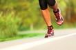 Runner - running shoes closeup