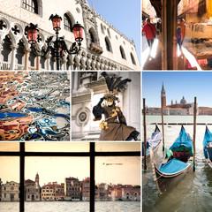 Venezia collage