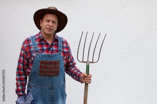 Hillbilly farmer