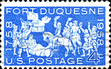 Fort Duquesne. 1758-1958. US Postage.