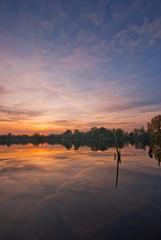 See während Sonnenuntergang