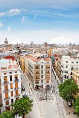 Blick auf Valencia, Spanien