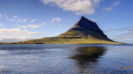 Mount Kirkjufell from Grundarfjordur