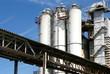 Aussenansicht Zementfabrik