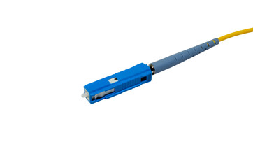 mu connector isolated on white background