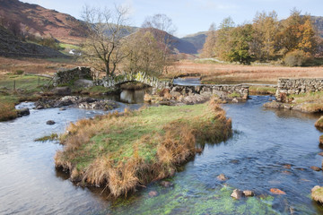 Slater Bridge, Little Langdale, Lake District, Cumbria