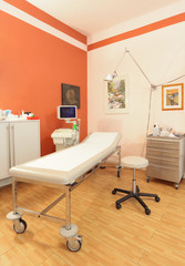Patientenferundlicher Ultraschall-Untersuchungsplatz