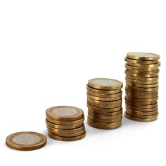 Euromünzen Treppe 02