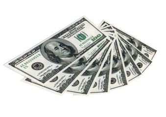 The money dollars