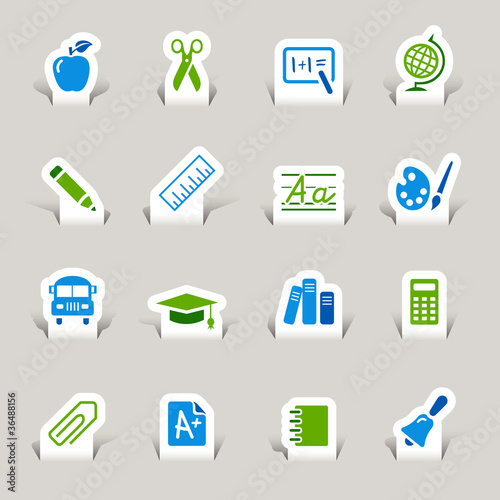 Papercut - School Icons