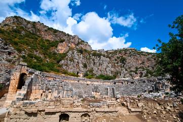 ancient theater in Myra, Turkey