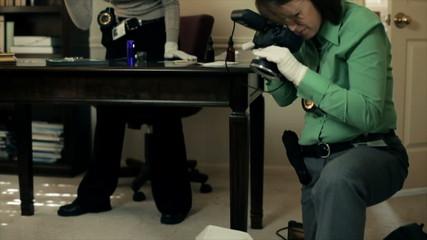 CSI Photographer at Work