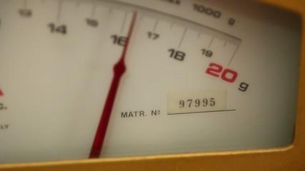 Goldsmith - Semiautomatic Manual scale - Macro