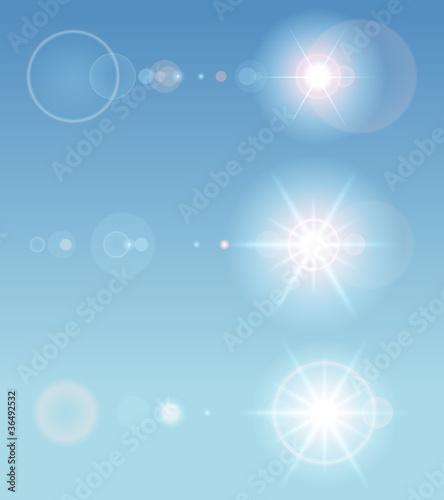 Lens flare set